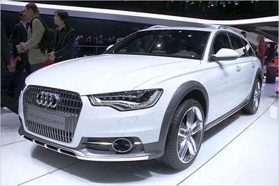 Bild: Audi A6 allroad  Gebrauchtwagen
