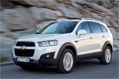 Bild: Chevrolet Captiva  Gebrauchtwagen