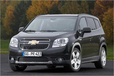 Bild: Chevrolet Orlando  Gebrauchtwagen
