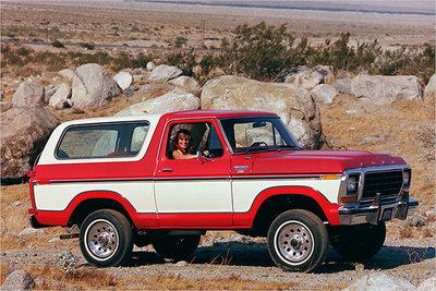 Bild: Ford Bronco  Gebrauchtwagen