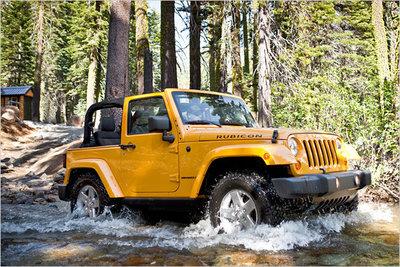 Bild: Jeep Wrangler  Gebrauchtwagen
