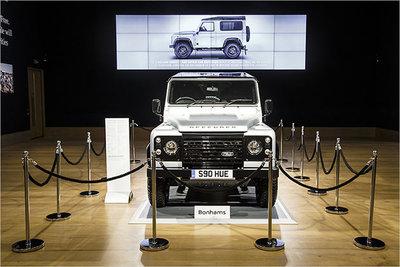 Bild: Land Rover Defender  Gebrauchtwagen