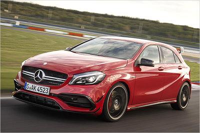 Bild: Mercedes A 45 AMG  Gebrauchtwagen