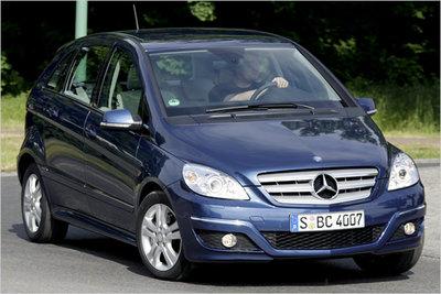 Bild: Mercedes B 170  Gebrauchtwagen