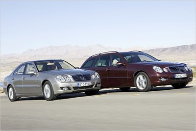 Bild: Mercedes E 270  Gebrauchtwagen