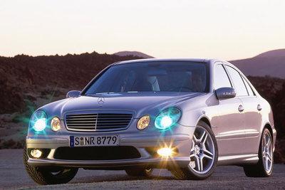 Bild: Mercedes E 55 AMG  Gebrauchtwagen