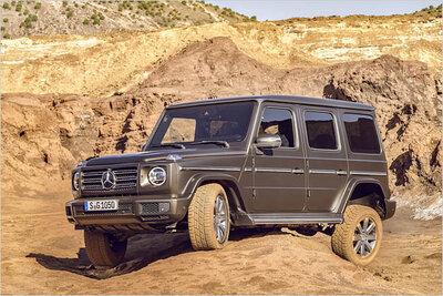 Bild: Mercedes G 500  Gebrauchtwagen