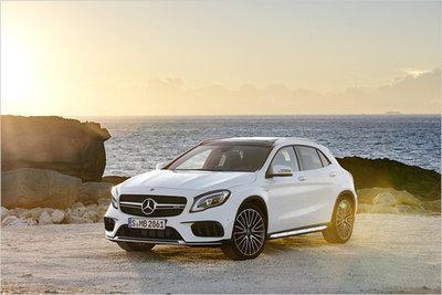 Bild: Mercedes GLA 45 AMG  Gebrauchtwagen