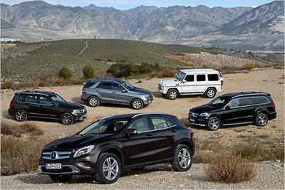 Bild: Mercedes GLA-Klasse  Gebrauchtwagen
