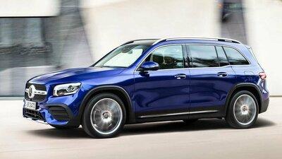 Bild: Mercedes GLB 200  Gebrauchtwagen
