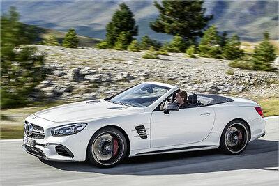 Bild: Mercedes SL 500 Cabrio