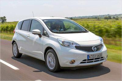 Bild: Nissan Note  Gebrauchtwagen
