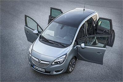Bild: Opel Meriva  Gebrauchtwagen
