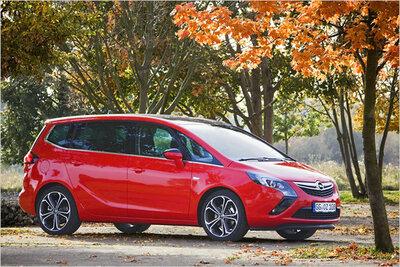 Bild: Opel Zafira  Gebrauchtwagen