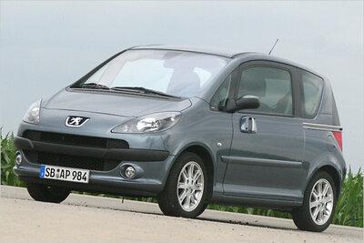 Bild: Peugeot 1007  Gebrauchtwagen