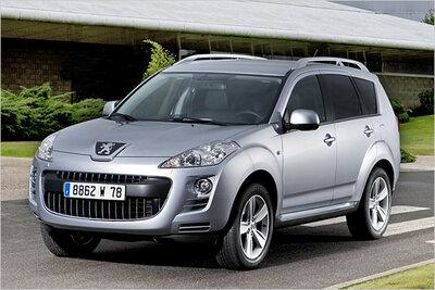 Bild: Peugeot 4007  Gebrauchtwagen