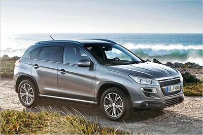 Bild: Peugeot 4008  Gebrauchtwagen