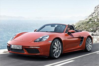 Bild: Porsche Boxster Cabrio