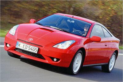 Bild: Toyota Celica  Gebrauchtwagen