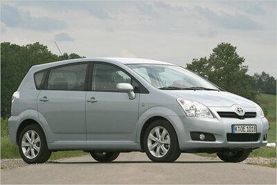 Bild: Toyota Corolla Verso Kombi Gebrauchtwagen