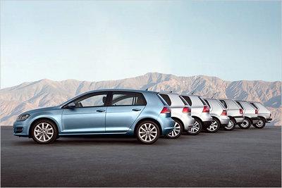 Bild: VW Golf  Gebrauchtwagen