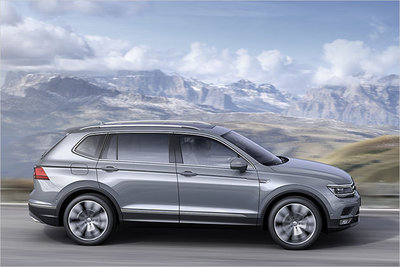 vw tiguan allspace gebraucht g nstig kaufen. Black Bedroom Furniture Sets. Home Design Ideas