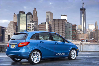 Bild: Mercedes B Electric Drive