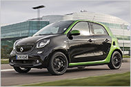 Im Test: Der Smart Forfour electric drive