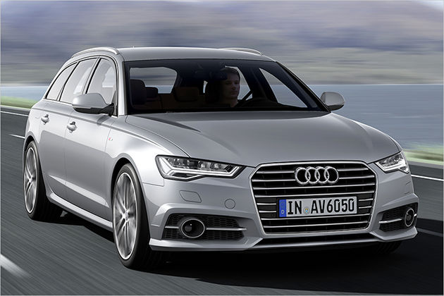Obere Mittelklasse: Audi A6, S6, RS6