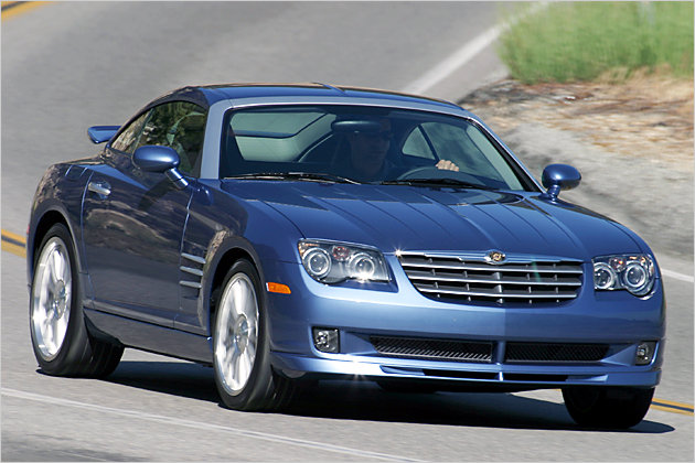 chrysler crossfire gebraucht coup oder cabrio kaufen. Black Bedroom Furniture Sets. Home Design Ideas