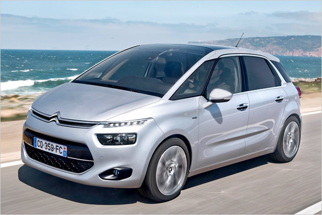 ford samochod citroen c4 grand picasso test. Black Bedroom Furniture Sets. Home Design Ideas