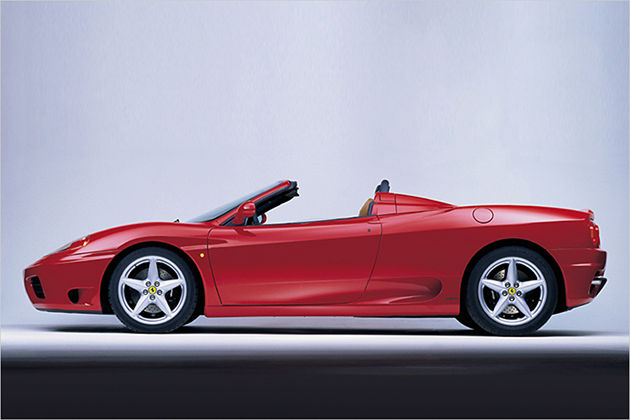 ferrari f 360 modena f1 spider gebraucht gebrauchtwagen. Black Bedroom Furniture Sets. Home Design Ideas