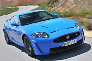 Top of the Range: Der Jaguar XKR-S ist mit 550 PS unterwegs