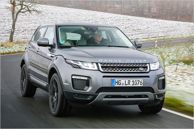 land rover range rover evoque neu 2019 preise. Black Bedroom Furniture Sets. Home Design Ideas