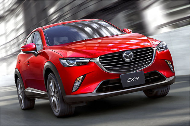 "Mazda CX-3: Platz 3 ""World Design Car of the Year"""