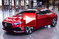 Mercedes in: Mercedes Concept A Sedan: A-Klasse-Ausblick im Video