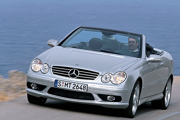 mercedes clk 55 amg gebraucht gebrauchtwagen und test. Black Bedroom Furniture Sets. Home Design Ideas