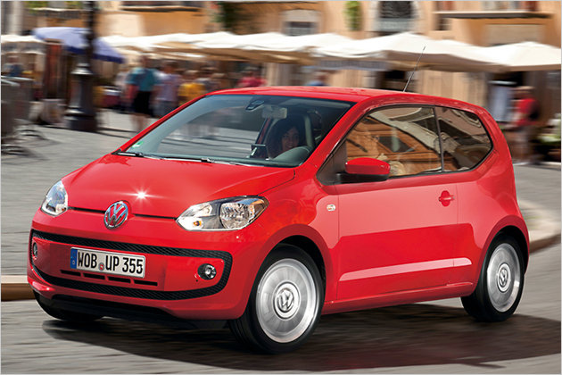 VW Up Facelift